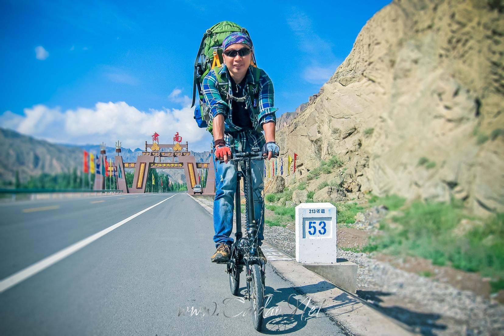骑行爱好者李银华的骑行记录